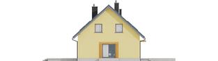 Projekt domu Marcin II G2 - elewacja prawa