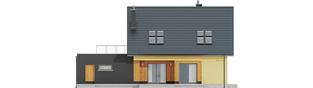 Projekt domu Marcin II G2 - elewacja tylna