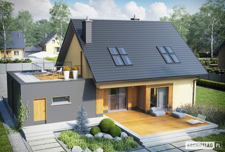 Projekt domu Marcin II G2 - widok z góry