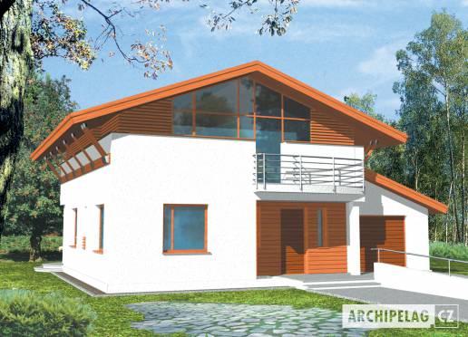 Projekt rodinného domu - Jakub