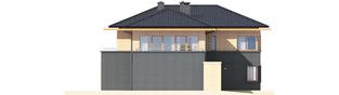Projekt domu Lorenzo G2 - elewacja lewa