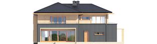 Projekt domu Lorenzo G2 - elewacja tylna