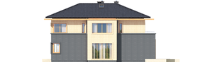Projekt domu Lorenzo G2 - elewacja prawa