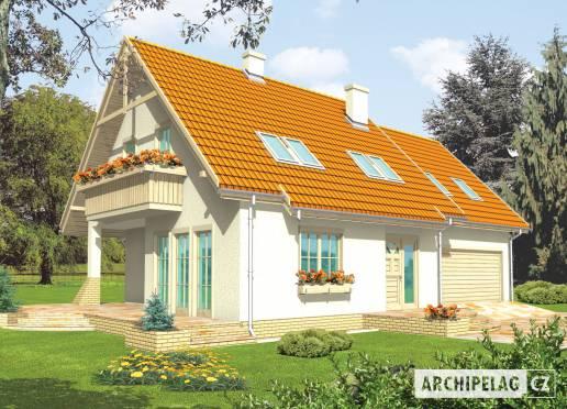 Projekt rodinného domu - Sněžka IV (G2)
