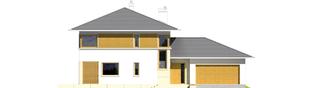 Projekt domu Diego G2 Leca® DOM - elewacja frontowa