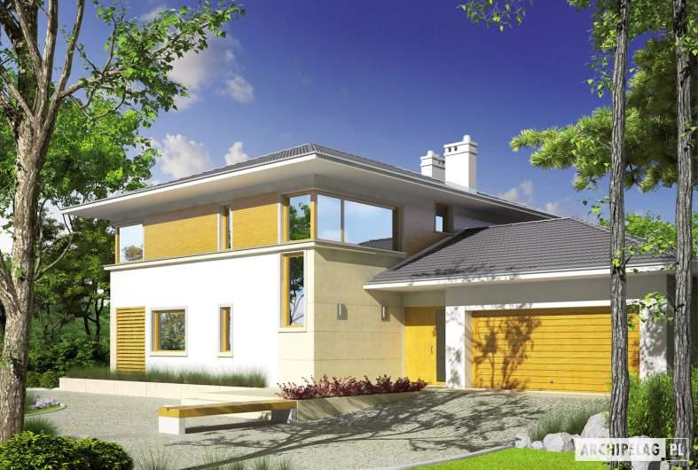 Projekt domu Diego G2 Leca® DOM - wizualizacja frontowa