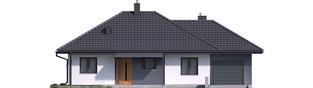 Projekt domu Mini 1 G1 - elewacja frontowa