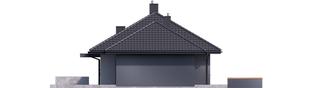Projekt domu Mini 1 G1 - elewacja prawa