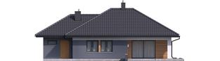 Projekt domu Mini 1 G1 - elewacja tylna