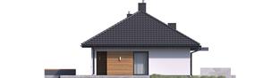 Projekt domu Mini 1 G1 - elewacja lewa