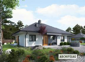 Projekt domu Mini 1 G1 - animacja projektu