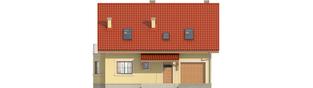 Projekt domu Aga II G1 - elewacja frontowa