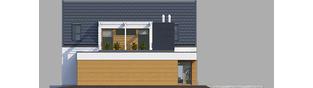 Projekt domu Neo G1 ENERGO - elewacja prawa