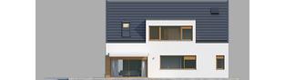 Projekt domu Neo G1 ENERGO - elewacja lewa