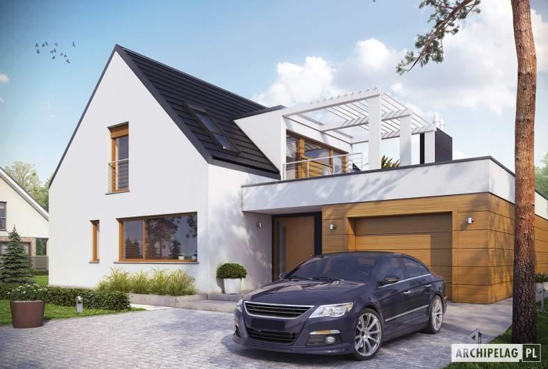 Projekt domu Neo G1 ENERGO - wizualizacja frontowa