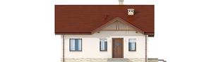 Projekt domu Elmo IV ENERGO - elewacja frontowa