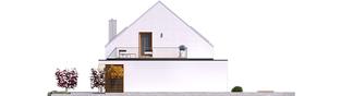 Projekt domu Mini 2 G1 PLUS - elewacja lewa
