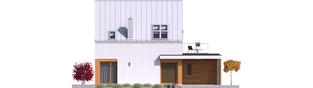 Projekt domu Mini 2 G1 PLUS - elewacja tylna
