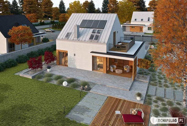 Projekt domu Mini 2 G1 PLUS - widok z góry