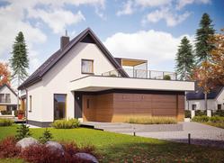 Проект дома: E13 G1 ENERGO+