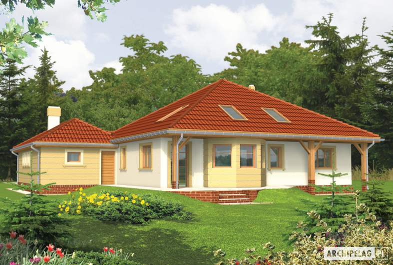 Projekt domu Kasandra G1 -