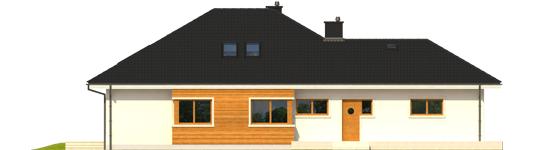 Liv 3 G2 - Projekt domu Liv 3 G2 MULTI-COMFORT - elewacja lewa
