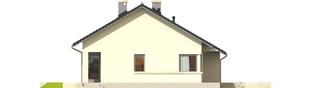 Projekt domu Tori III G1 - elewacja prawa