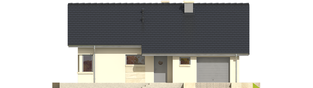 Projekt domu Tori III G1 - elewacja frontowa