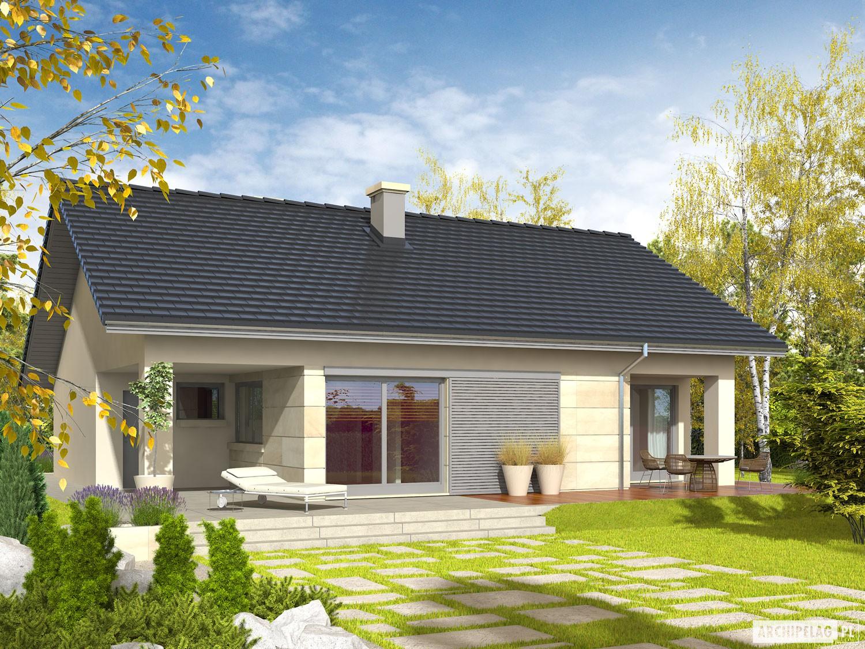 Tori iii g1 projekt domu archipelag for Modele maison 50 m2