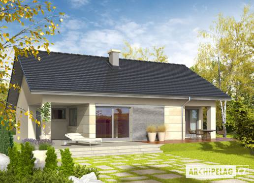 Projekt rodinného domu - Tori III G1