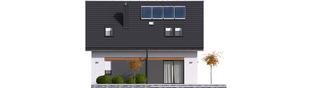 Projekt domu Witek II - elewacja tylna