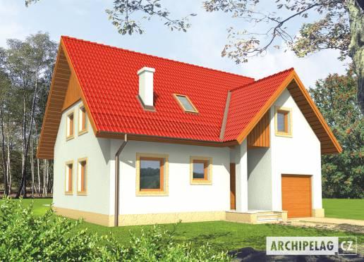 Projekt rodinného domu - Juditka