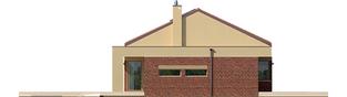 Projekt domu EX 11 G2 (wersja B) ENERGO PLUS - elewacja lewa