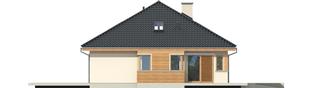 Projekt domu Andrea II G1 - elewacja lewa