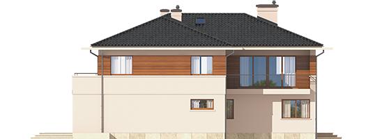 Nati G2 - Projekt domu Nati G2 - elewacja tylna