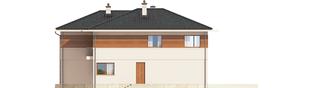 Projekt domu Nati G2 (z piwnicą) - elewacja lewa