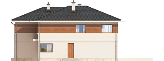 Nati G2 - Projekt domu Nati G2 - elewacja lewa