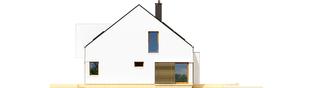 Projekt domu EX 9 G1 (wersja B) soft - elewacja prawa