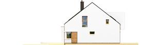 Projekt domu EX 9 G1 (wersja B) soft - elewacja lewa
