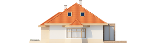 Projekt domu Celesta G2 - elewacja prawa