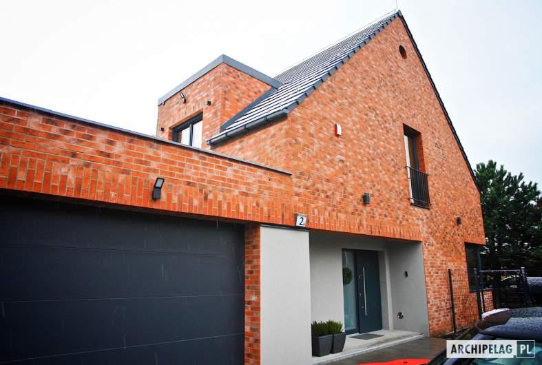 Projekt domu Teodor G2 (wersja A) - realizacja