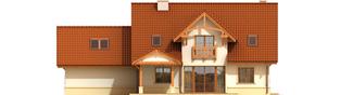 Projekt domu Krzysiek G2 - elewacja tylna