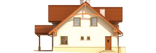 Kristopher G2 - Projekt domu Krzysiek G2 - elewacja lewa
