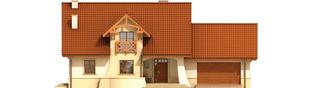 Projekt domu Krzysiek G2 - elewacja frontowa