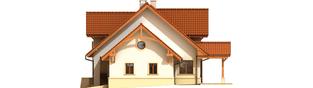 Projekt domu Krzysiek G2 - elewacja prawa