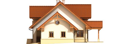 Kristopher G2 - Projekt domu Krzysiek G2 - elewacja prawa