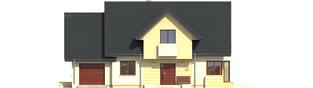 Projekt domu Andrzej II G1 - elewacja frontowa
