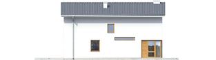 Projekt domu Mika - elewacja frontowa