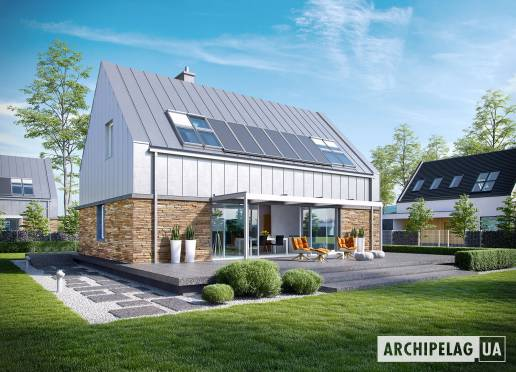 Проект будинку - Екс 16 (Енерго) *
