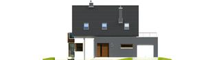 Projekt domu Mati G1 - elewacja frontowa